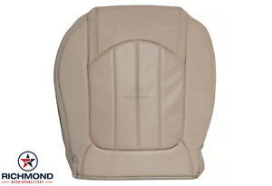 2011 GMC Acadia Denali - Driver Side Bottom Replacement Leather Seat Cover Tan