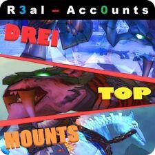 WOW account 3 Legendary supporti 941 GS sciamano World of Warcraft Highend Legione