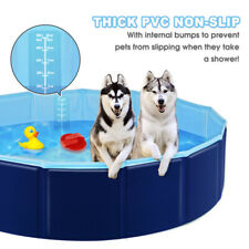 S/M/L Foldable Pet Pool Dogs Cats Bath Swimming Pool Paddling Bathing Tub Washer