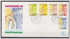 Surinam / Suriname 1986 FDC 103  Pasen easter ostern paques
