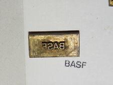 Alter Messing Stempel - BASF - Druckplatte ?     #6319