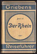 Griebens Reiseführer, Der Rhein, 1927