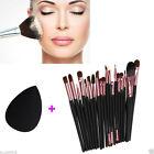 20pcs Makeup Brushes Set Powder Foundation Eyeshadow Eyeliner Lip Brush Tool KY