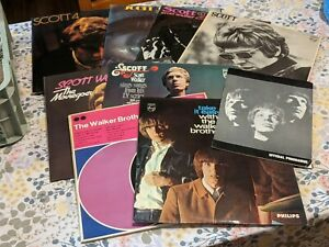 Scott Walker The Walker Brothers vinyl records first pressing LP collection