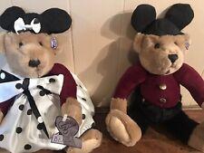 Vintage Knickerbocker Disney Annette Funicello Mouseketeer Mickey Teddy Bears
