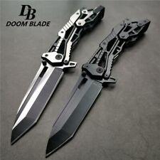 "8.4"" 58HRC Pocket Folding Knife Tactical Hunting Survival Combat EDC Multi Tool"