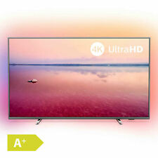 Philips 126cm 50 Zoll Ultra HD 4K LED Fernseher Ambilight HDR Smart TV PVR