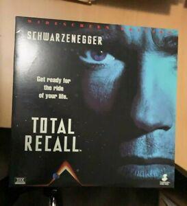 Total Recall Laserdisc Arnold Schwarzenegger widescreen