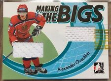 Alexander Ovechkin 05-06 ITG H&P Making the Bigs Dual GU Jersey /60 RC Rookie