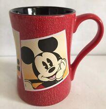 Disney Red Mickey Mouse Mug Coffee Tea
