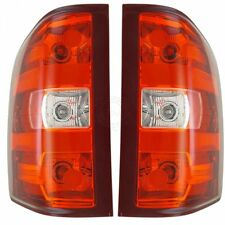 Taillights Taillamps Brake Light LH & RH Pair Set for Chevy Silverado GMC Sierra