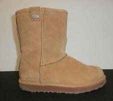 EMU Australia Womens Waterproof Sheepskin Boots; Paterson Lo; Chestnut; Size 7