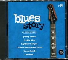 BLUES STORY - N°14 LE TEXAS BLUES - CD COMPILATION NEUF ET SOUS CELLO