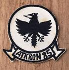 Vintage ATKRON 85 Patch US Navy Aviation CIRCA 1956