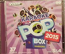 ZOOM KARAOKE CDG  POP BOX 2015  DISCS  3 & 4      37  SONGS 2 DISCS