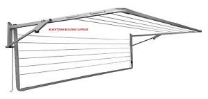 Clothesline Folding Hoist Double Sunbreeze Fold Down Clothes Line Clothes Airer