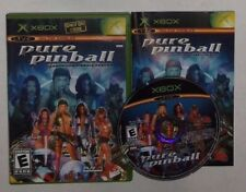 Pure Pinball (Microsoft Xbox, 2004) COMPLETE w/ Manual