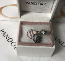 "Pandora ""Pink Enamel Sweet Mother  "" Pendant Dangle Charm # 791285CZ"