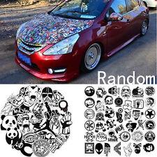 60Pcs/Set Sticker Car Decor Accessory Black White Stickerbomb Case Decals Decor