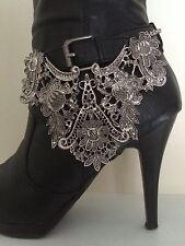 Boot Bling Jewelry Bracelet Vintage Flower