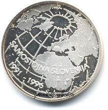 SLOVENIA 500 TOLAR 1996 MONETA ARGENTO SAMOSTOJNA SLOVENIJA