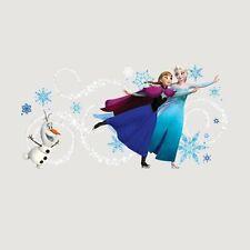 RoomMates Disney Frozen Custom Headboard Featuring Elsa, Anna Olaf Peel And