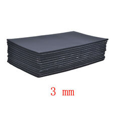Lot12 Car Sound Proofing Deadening Insulation 3mm Closed Cell Foam 30X50CM WYS