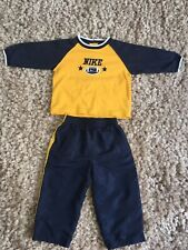 Boys Nike Outfit/ American Football/ 18 Months/ Great Condition/ .blue/ Yellow.