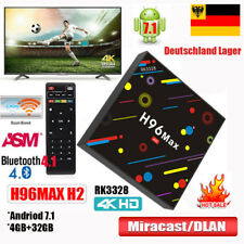 4GB+32GB H96 MAX H2 Andriod 7.1 TV Box RK3328 Quad Core 5G WIFI 4K Media Player
