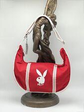 Women's Playboy Red Jersey Fashion Shoulder Bag