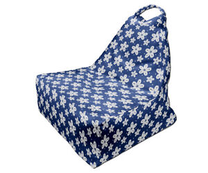 Bean Bag Chair, Minimalist Japanese Style Print Design, Full Print, Made in EU
