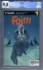 Faith #1  Valiant Comics  3rd Print   CGC 9.8