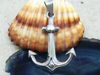 Anker 925 Sterling Silber Anhänger anchor Schiff Matrose Rockabilly Maritim