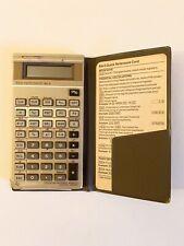 Vintage 1987 Texas Instruments BA-II Executivebusiness Analyst Calculator Works