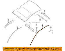 NISSAN OEM 07-12 Altima-Roof Molding Trim Right 73852ZN40A