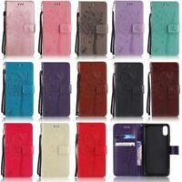 For iPhone 11 Pro XS Max XR X 6 7 8 Plus Cat Tree Wallet Leather Flip Cover Case