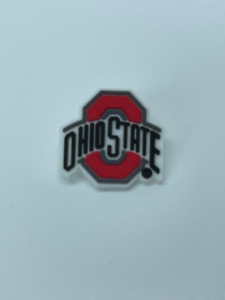 For Ohio State Shoe Charms