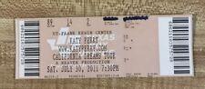 Katy Perry Used Full California Dreams Tour Concert Ticket Austin Texas