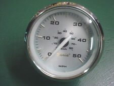 FARIA KRONOS 50 MPH ELECTRIC BOAT~PONTOON SPEEDOMETER GAUGE~SE0603A~HURRICANE