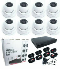 8CH 1080P DVR Outdoor IR LEDs Dome CCTV Security 8 Camera System Kit