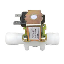 12V 1/2 Plastic Electric Solenoid Valve Magnetic Water Air Normally Closed N/C