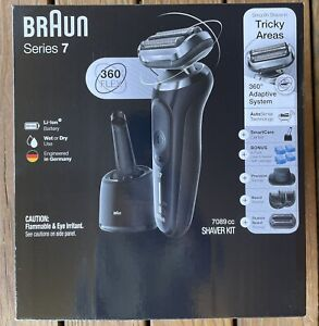 Braun Series 7 7089cc Electric Razor Trimmers SmartCare Kit Wet Dry FREE SHIP