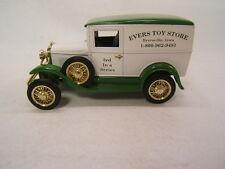 Liberty Classics Spec-Cast Evers Toy Store Dyersville Iowa Model A Van Bank MIB