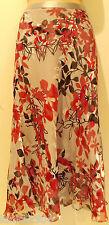 Eastex Pink Grey mix Silk Blend Midi skirt (NEW) UK Sizes 8, 10, 18 or 20