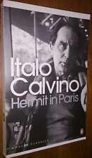 Hermit in Paris by Italo Calvino in stock in Australia 9780141189758