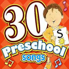 30 Preschool Songs CD, Twin Sisters Productions, New Single, Enhanced