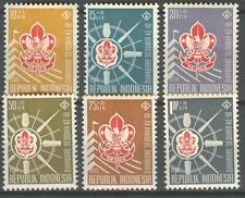INDONESIA 1959 ZBL 242-47  MNH
