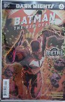 BATMAN THE RED DEATH #1 1st Print Foil- Dark Nights Metal Tie-In, DC Comics 2017