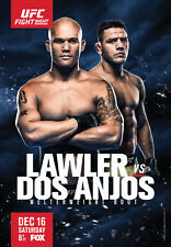 D'Impression A5 – UFC on Fox 26-Lawler vs. Dos Anjos (Photo Poster Arts Martiaux MMA)
