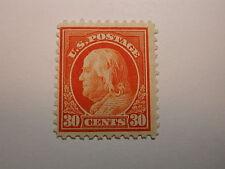 U.S. Scott #516 30 Cent Franklin 1917, Never Hinged